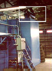 Model MB (3 X 8) with polybelt & Oil Concentrator OC200