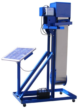 Oil Skimmers - Oil Grabber Model 8 Solar
