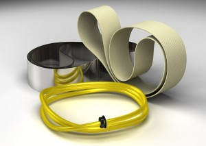 oil skimmer media belts and tubes