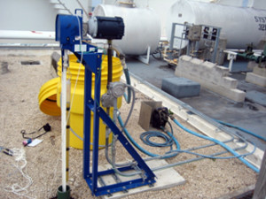 oil skimmer application