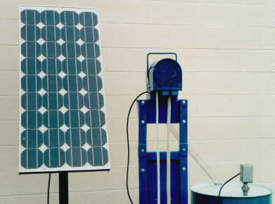Solar Powered Oil Skimmers