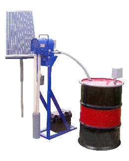 solar powered oil skimmer