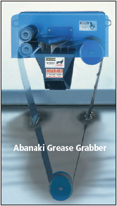 Oil skimming Grease Grabber