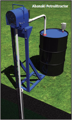 Abanaki groundwater oil skimmer